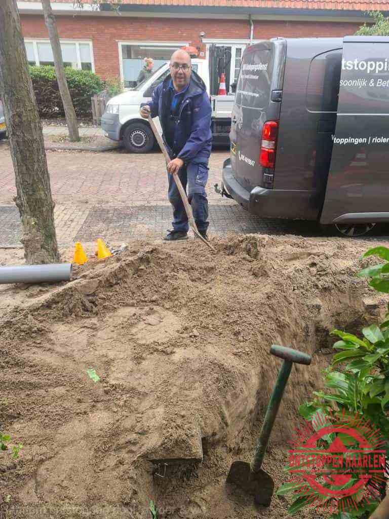 Riool ontstoppen Haarlem graven